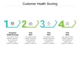 Customer Health Scoring Ppt Powerpoint Presentation Portfolio Slide Portrait Cpb