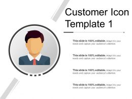 Customer Icon Template 1 Powerpoint Graphics
