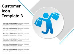 Customer Icon Template 3 Powerpoint Guide