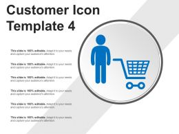 Customer Icon Template 4 Powerpoint Ideas