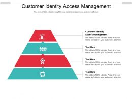 Customer Identity Access Management Ppt Powerpoint Presentation File Vector Cpb