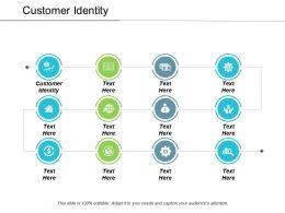 Customer Identity Ppt Powerpoint Presentation File Ideas Cpb