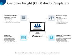 Customer Insight Ci Maturity Template Strategic Insight Partner