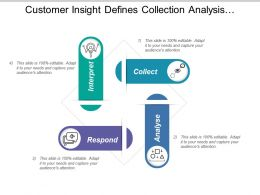 Customer Insight Defines Collection Analysis Interpret And Respond