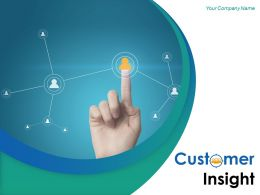 Customer Insight Powerpoint Presentation Slides