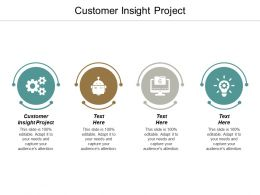 Customer Insight Project Ppt Powerpoint Presentation Ideas Backgrounds Cpb