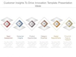 Customer Insights To Drive Innovation Template Presentation Ideas