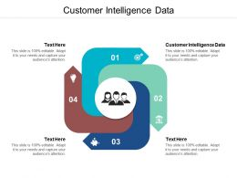 Customer Intelligence Data Ppt Powerpoint Presentation Show Objects Cpb