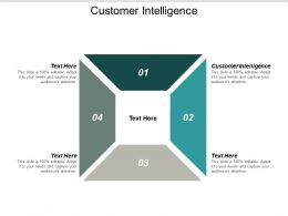 Customer Intelligence Ppt Powerpoint Presentation Summary Example Topics Cpb