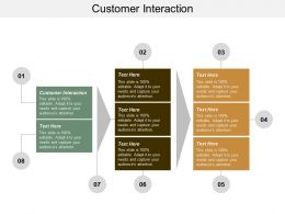 Customer Interaction Ppt Powerpoint Presentation Layouts Gallery Cpb