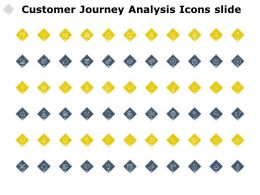 Customer Journey Analysis Icons Slide Growth Process C319 Ppt Powerpoint Presentation Model
