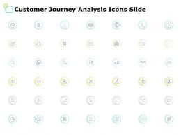 Customer Journey Analysis Icons Slide Location Ppt Powerpoint Presentation File Icon