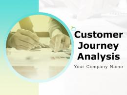 Customer Journey Analysis Powerpoint Presentation Slides