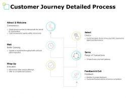 Customer Journey Detailed Process Convenience Ppt Powerpoint Presentation File Model
