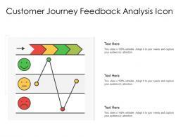 Customer Journey Feedback Analysis Icon