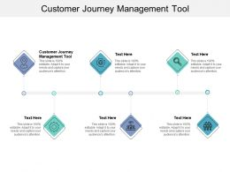Customer Journey Management Tool Ppt Powerpoint Presentation Styles Objects Cpb