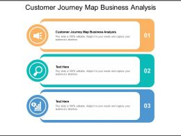 Customer Journey Map Business Analysis Ppt Powerpoint Presentation Slides Files Cpb