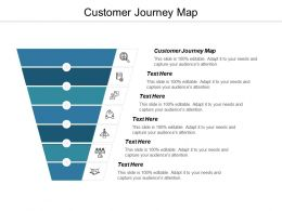 Customer Journey Map Ppt Powerpoint Presentation Icon Infographic Template Cpb