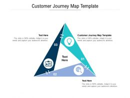 Customer Journey Map Template Ppt Powerpoint Presentation Portfolio Elements Cpb