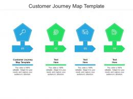 Customer Journey Map Template Ppt Powerpoint Presentation Slides Icons Cpb