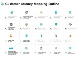 Customer Journey Mapping Outline Mapping Journey Ppt Powerpoint Presentation Gallery Objects