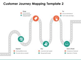 Customer Journey Mapping Template Dollar Ppt Powerpoint Presentation Show Model