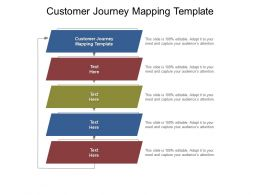 Customer Journey Mapping Template Ppt Powerpoint Presentation Icon Rules Cpb