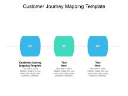 Customer Journey Mapping Template Ppt Powerpoint Presentation Infographics Background Designs Cpb