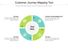 Customer Journey Mapping Tool Ppt Powerpoint Presentation Icon Visual Aids Cpb