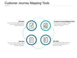 Customer Journey Mapping Tools Ppt Powerpoint Presentation File Design Cpb