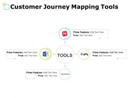 Customer Journey Mapping Tools Prime Features Ppt Powerpoint Presentation File Tips