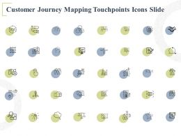 Customer Journey Mapping Touchpoints Icons Slide Process A712 Ppt Powerpoint Presentation