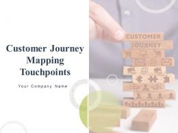 Customer Journey Mapping Touchpoints Powerpoint Presentation Slides