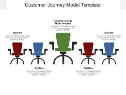 Customer Journey Model Template Ppt Powerpoint Presentation File Tips Cpb