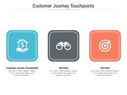 Customer Journey Touchpoints Ppt Powerpoint Presentation Infographics Icons Cpb