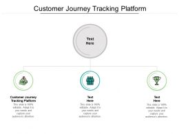 Customer Journey Tracking Platform Ppt Powerpoint Presentation Infographics Images Cpb