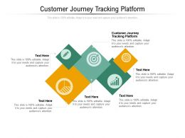 Customer Journey Tracking Platform Ppt Powerpoint Presentation Show Slides Cpb