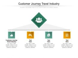 Customer Journey Travel Industry Ppt Powerpoint Presentation Design Templates Cpb