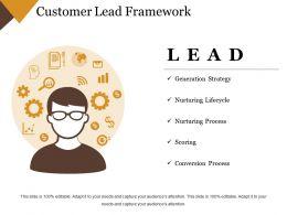 Customer Lead Framework Powerpoint Slide Deck Samples