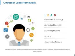 Customer Lead Framework Ppt Background Designs