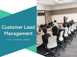 Customer Lead Management Dashboard Opportunities Process Qualification Gear Marketing