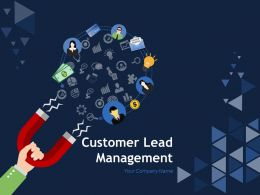 Customer Lead Management Powerpoint Presentation Slides