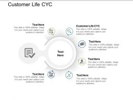 Customer Life Cyc Ppt Powerpoint Presentation Infographic Template Designs Cpb