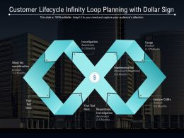 Customer Lifecycle Infinity Loop Planning With Dollar Sign