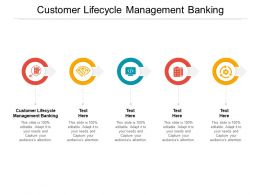 Customer Lifecycle Management Banking Ppt Powerpoint Presentation Layouts Styles Cpb