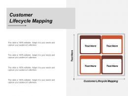 Customer Lifecycle Mapping Ppt Powerpoint Presentation Icon Summary Cpb