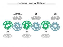 Customer Lifecycle Platform Ppt Powerpoint Presentation Layouts Guide Cpb