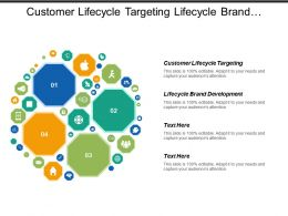 Customer Lifecycle Targeting Lifecycle Brand Development Product Development