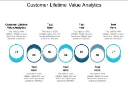 Customer Lifetime Value Analytics Ppt Powerpoint Presentation Styles Design Ideas Cpb