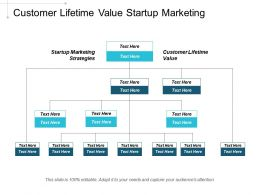 Customer Lifetime Value Startup Marketing Strategies Human Capital Management Cpb